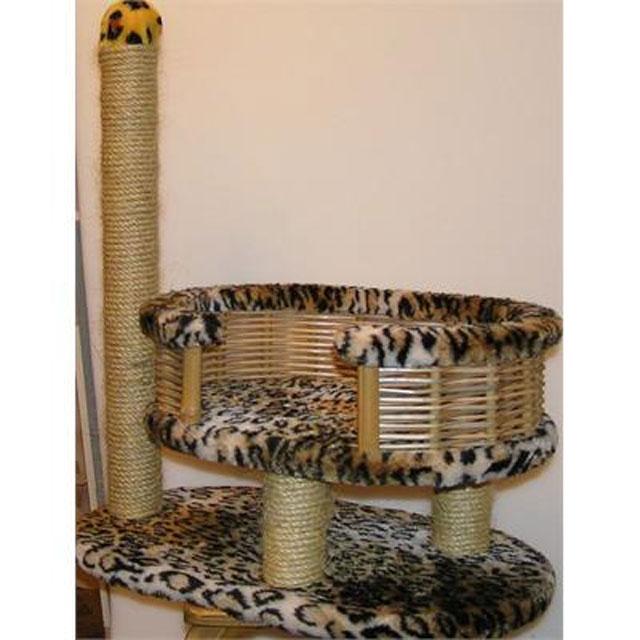 Домик для кошки своими руками из лозы 96
