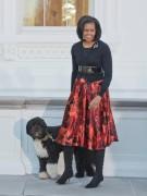 «Первой собаке» США посвящена целая статья в Википедии. У питомца Бо (порода кан-диагуа или португальская водяная), доставшегося семье американского президента в качестве подарка, куча привилегий: Бо разрешено кататься в машине вместе с президентом, таскать индейку со стола, гулять с первой леди и даже играть главные роли в рождественском видео